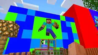 Minecraft Battle : SUPER GIRL CRAFTING CHALLENGE - NOOB vs PRO vs HACKER vs GOD / Animation
