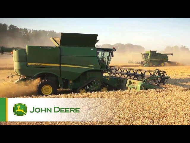 Mietirebbie Serie S John Deere - In azione Clip 2