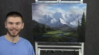 Paint with Kevin Hill - Fork in the River