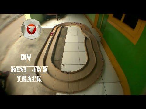 Cara Membuat Jalur / Track Tamiya [mini 4WD] Dari Kardus Bekas