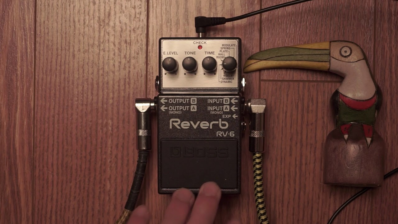 boss rv 6 review with violin youtube