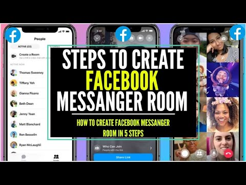 Steps To Create Facebook Messenger Rooms How To Create Facebook Messenger Rooms How To Use Details