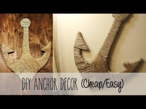 DIY Ocean Decor: Anchor (Easy/Cheap)