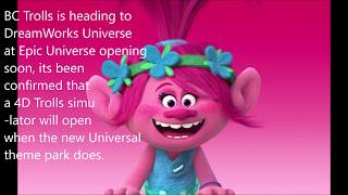 Creperie; Trolls 4D Ride at Epic Universe; Halston Sage Cast in Clifford Film