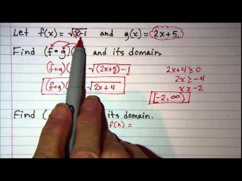 Composition of Functions and Domain