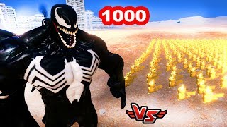 1000 DEDEKTİF PİKAÇU VS VENOM 😱 - Ultimate Epic Battle Simulator