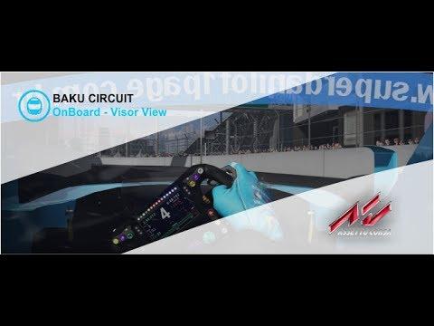 Volta Virtual Azerbaijão, Circuito da Formula 1