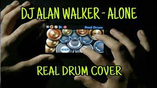 Download DJ Alan Walker - Cover Real Drum