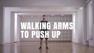 Online Fitness I How To I Walking Arms to Push-Up