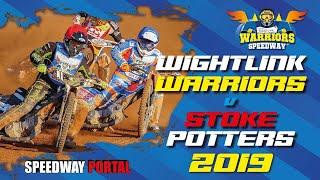 Isle of Wight 'Wightlink Warriors' vs Stoke 'Potters' : National League : 23/05/2019
