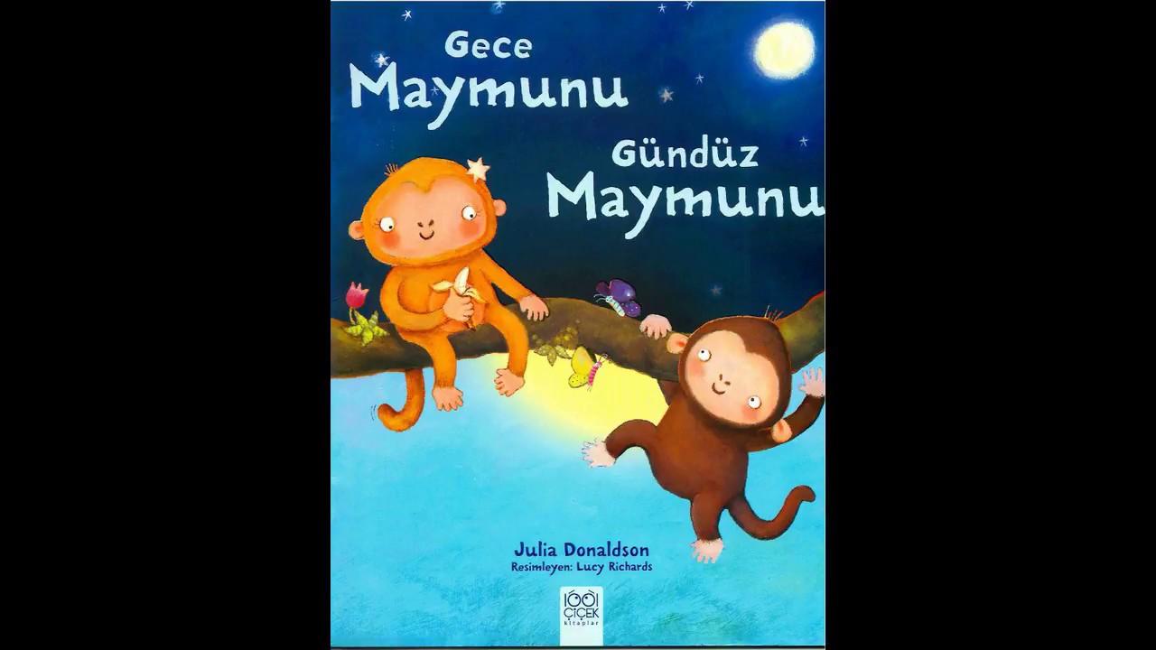Çocuklara Sesli Masallar & Gece Maymunu Gündüz Maymunu