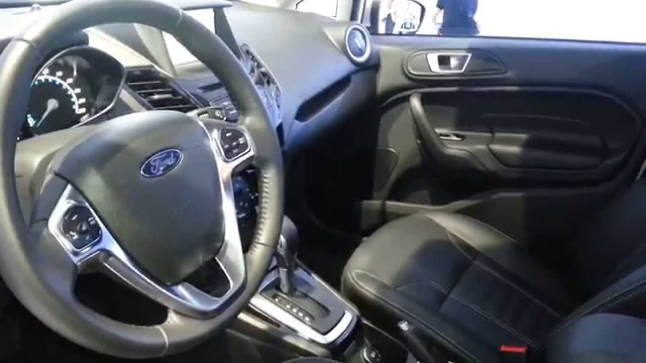 Ford Fiesta Titanium Hatchback 2015 Video Interior Colombia Youtube