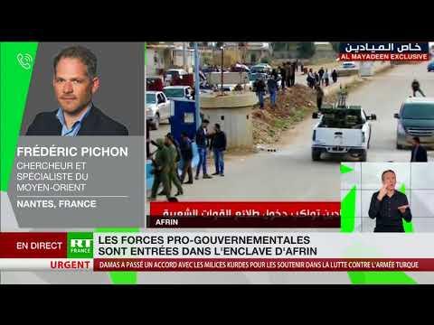 Crise à Afrin : pour Frédéric Pichon, la Turquie ne souhaite pas «perdre la face»