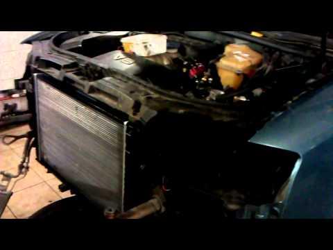 AUDI A6 c5 quattro ! Замена радиатора и газовых форсунок !