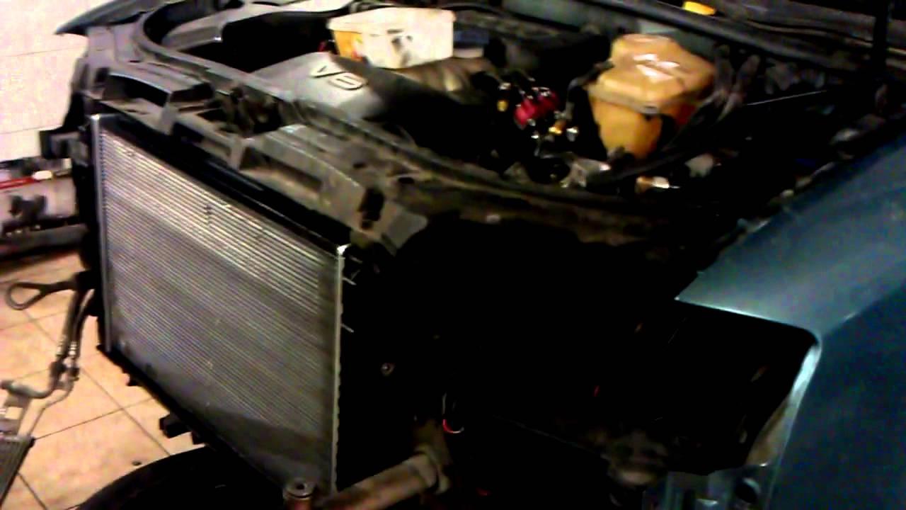 audi a6 avant 2.5tdi радиатор отопителя патрубки схема