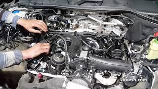 Своевременно меняйте шайбы под форсунками на Volkswagen Touareg 3.0d, CCMA