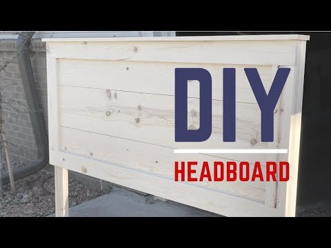 Rustic Headboard Build