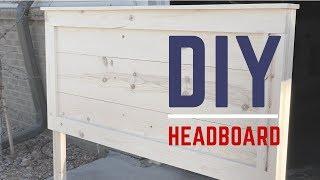 Rustic Headboard Build