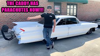 The '61 Caddy Gets Parachutes and We Roadtrip the C10 Home! Finnegan's Garage Ep.139