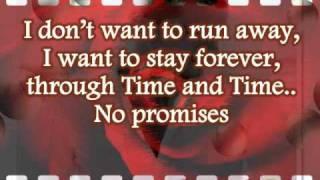 No Promises - KARAOKE