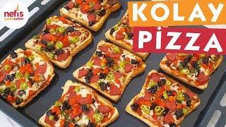 Kolay Pizza Tarifi - Pizza Tarifleri - Nefis Yemek Tarifleri
