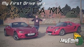 I drive a Mazda MX-5 for the first time