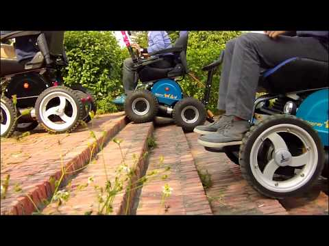 The Peer care  4x4 Wheelchair by observer