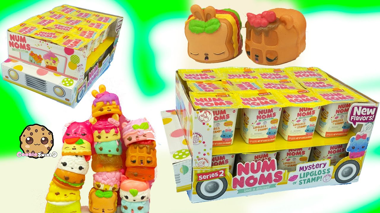 Series 2 Full Mini Ice Cream Truck Box Of 24 Num Noms