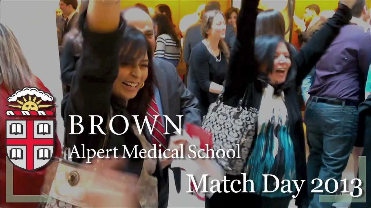 Brown University Match Day 2013