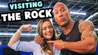 Visiting The Rock On The Set Of Ballers  Self WorthSelf Belief Talk Visiting The Rock Dwayne Johnson on the set of Ballers The Take Aways from my catch up with The Rock DM with Emily Skye  Self Worth Self Belief ...