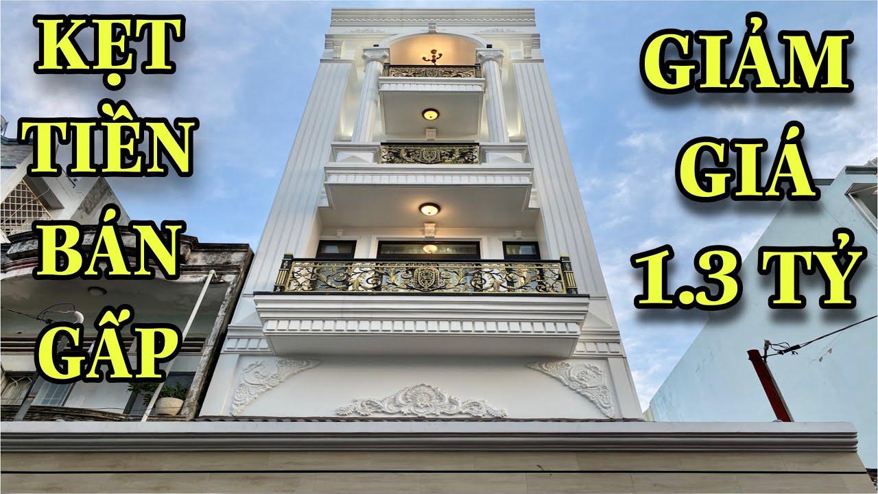 Bán nhà Gò Vấp 507|Chủ nhà kẹt tiền ĐẠI HẠ GIÁ 1.3 tỷ đồng cho căn nhà đẹp 5.2x16m thiết kế hiện đại