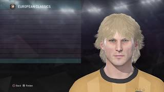 [PES 2018] Pavel Nedved Face - Create (Build) Face for Nedved