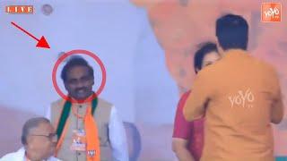 Ravela Kishore Babu Joins BJP Ravela Spotted In Modi Meeting at Tirupati YOYO TV
