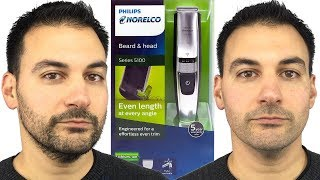 Beard Trimming - Philips Norelco Series 5100 Beard and Head Trimmer - Model BT5210