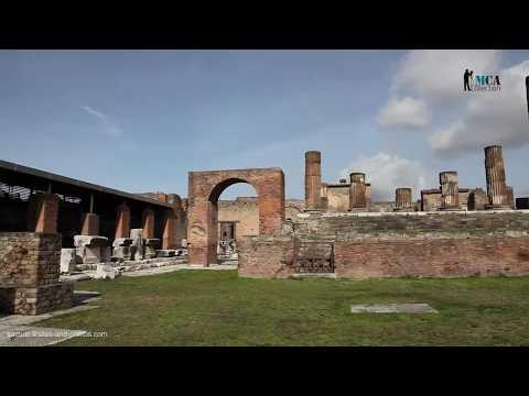 Italy, Pompeii - Temple of Jupiter (Capitolium)