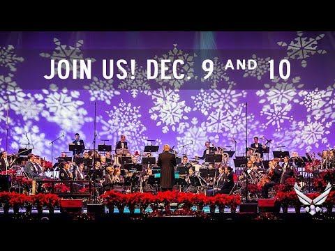 USAF Band Holiday Show: Saturday, Dec 9th at 3:00pm
