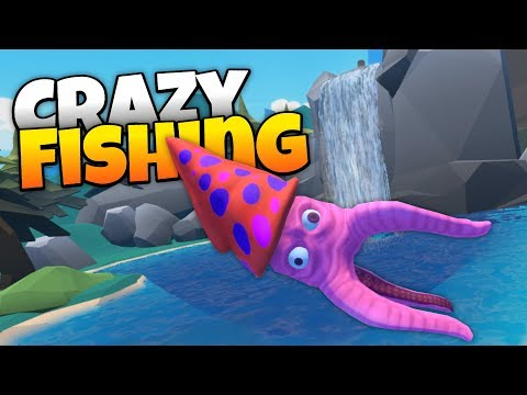 Crazy Fishing - Catching Monster Fish in Virtual Reality! - Crazy Fishing HTC Vive VR