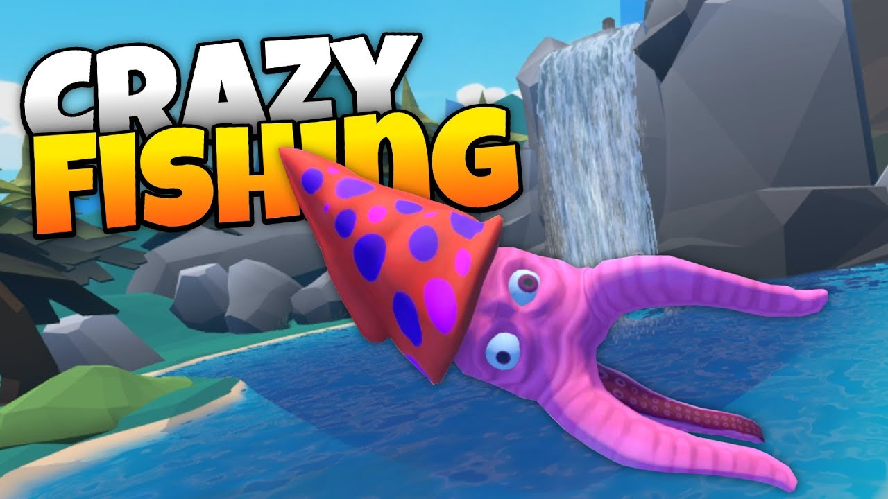 Crazy fishing catching monster fish in virtual reality for Crazy fishing videos