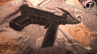 Оперативное видео обыска в пос. Плеханово города Тулы