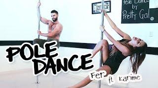 Clase de Pole Dance Fer & Karime - Fernando Lozada