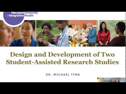 Design, Development, and Implementation of Two Student-assisted Research Studies