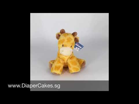 Baby Gund Tucker Giraffe Keywind Musical Plush Toy