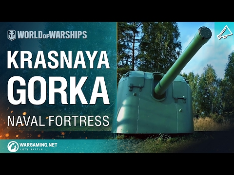 World of Warships - Naval Fortress: Krasnaya Gorka