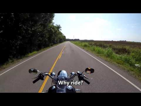 GoPro Motorcycle Riding the Back Roads of South Louisiana