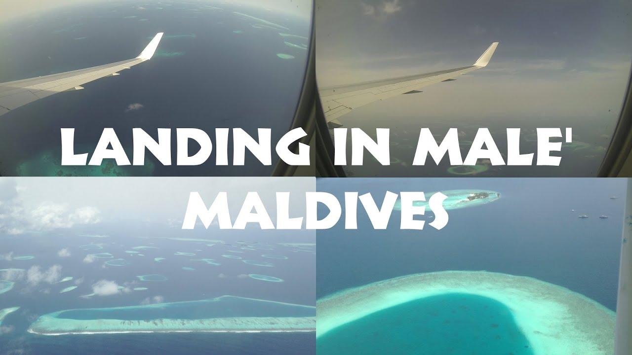 Aeroporto Male Maldive : Landing in male airport the maldives mle youtube