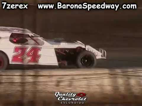IMCA Modified Heat 1 Barona Speedway 6-17-2017