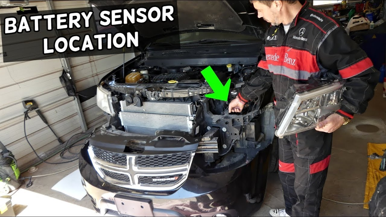 Dodge Journey Battery Sensor Location Replacement Fiat