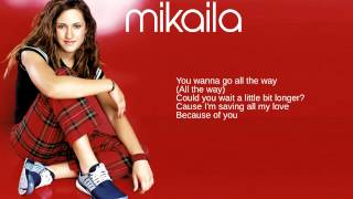 Watch Mikaila Because Of You video
