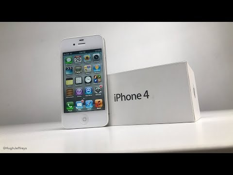 iPhone 4 Colour Conversion - (Black to White)