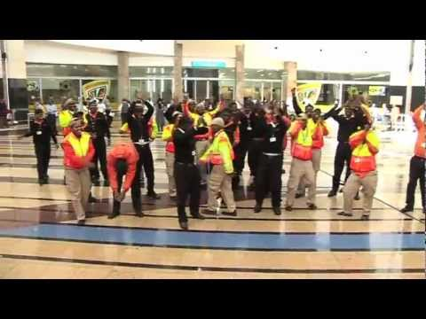 MOTIVATIONAL VIDEO FOR AIRPORTS COMPANY SOUTH AFRICA: WAKA WAKA